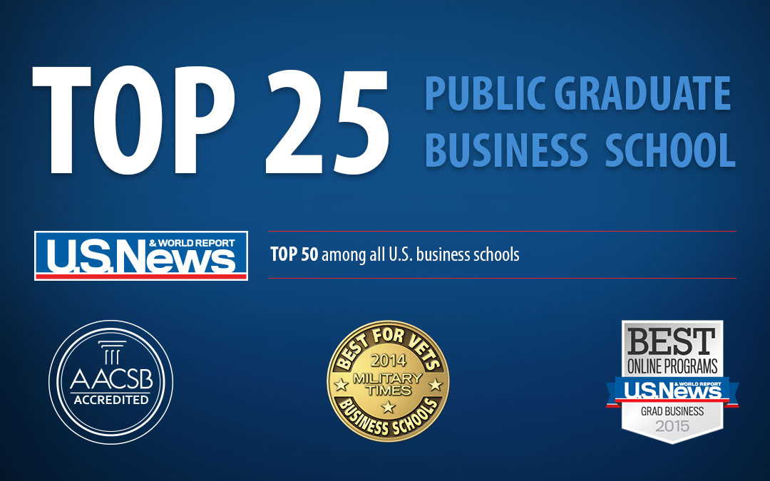 Top 25 Graduate Business School - US News